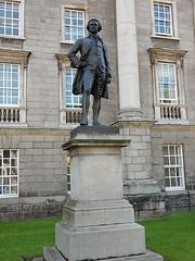 Edmund Burke (mikecogh) Tags: dublin statue trinitycollege politician graduate plinth edmundburke