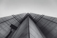 Cerulean Tower Shibuya (Greg Tokyo) Tags: bw building tower japan tokyo shibuya tokyu cerulean 6d 2016