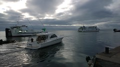 Fishing Trip (Ross Major) Tags: ocean ferry clouds bay boat ship queenscliff pureview nokia1020