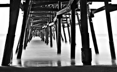 Pier (Donald Palansky Photography) Tags: sonyslta99v 2470mmf28zassm neutraldensity 10stopfilter longexposure slowshutterspeed donaldpalansky