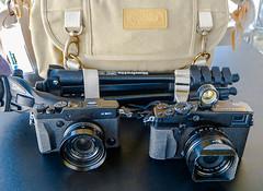Fujifilm X-Pro1 and X30 (Bob G. Bell) Tags: camera xpro kentucky fujifilm x30 bobbell xpro1