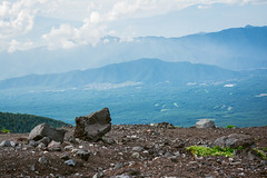 DSC_4412 (HaroGenki) Tags: sky mountain nature japan clouds landscape view mountfuji