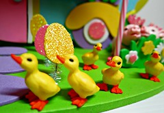 Easter Trailer4 (annesstuff) Tags: easter toy japanese miniature trailer pinkyst rement annesstuff foamcraft