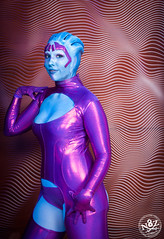 DSC_0702 (N8Zim) Tags: cosplay seatte asari masseffect azures afterlifeclub eccc2015