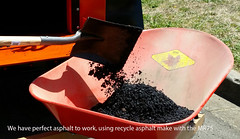 08 Using recycle asphalt for work