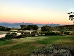 Sunset at Jordan Restaurant (RobW_) Tags: africa sunset march estate wine south saturday jordan western cape stellenbosch 2015 mar2015 14mar2015