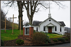 Remembering The True Meaning of Easter (Jerry Jaynes) Tags: church easter nc cross crosses baptist boone countrychurch boonenc nikkor1685vr zionvillebaptistchurch