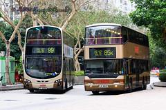 KMB Volvo B9TL 10.6m 2-axle AVBWS1 PP9062 & KMB Neoman A34 APM1 LE4612 (Heman Wong) Tags: neoman a34 apm1 volvob9tl le4612 avbws1 pp9062