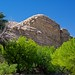 Trees, Limestone Walls and Blue Skies (Big Bend National Park)