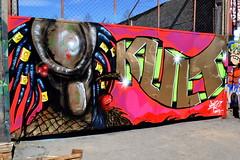 (axelinaknoppel) Tags: street streetart color colour art colors painting concrete graffiti cool paint colours sweden stockholm graffitiartists