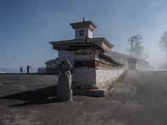 Dochu la chortens (alison ryde - back in town for now) Tags: travel winter holiday festival march asia bhutan buddha buddhist buddhism east dzong punaka february himalaya phototrip 2015 kingdomofbhutan himalayankingdoms alisonryde olympusem1