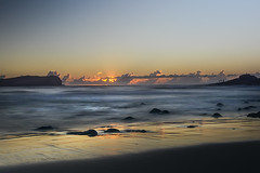 Fingal Heads (PLN54) Tags: beach water clouds sunrise rocks surf newsouthwales fingalheads