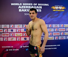 24/04/2015 Week 14 Group B Weigh In Azerbaijan Baku Fires vs Argentina Condors (World Series Boxing) Tags: wsb boxing aiba seasonv worldseriesboxing argentinacondors azerbaijanbakufires