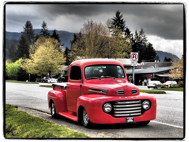 ford pickup issaquah fordtruck fordpickup redtruck artfilter americanpickup micro43 microfourthirds olympusartfilter olympusep5 olympus1250mmf3563