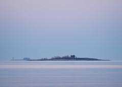 Pastel Island (trm42) Tags: morning sea nature suomi finland island spring helsinki pastel meri lauttasaari kevt aamu