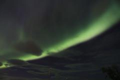 Aurora borealis (loindici.com) Tags: sweden aurora lapland kiruna borealis sude aurores kungsleden borales laponie