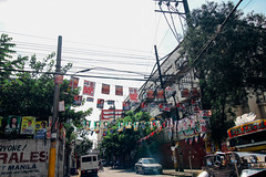 politicians signs hanging on electric wires-2 (_gem_) Tags: street city urban sign typography words text philippines politicians signage type politicianssigns elections2016