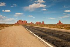 The Road to Monument Valley (jpmckenna - Denali Bound) Tags: arizona landscape desert highdesert monumentvalley navajotribalpark getoutside