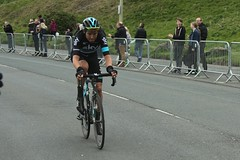 "Luke Rowe ""Team Sky"" (Steve Dawson.) Tags: uk england car bike race canon eos is 1st may cycle tdy scarborough usm ef28135mm seafront stage3 uci peloton spares 2016 f3556 50d ef28135mmf3556isusm canoneos50d teamsky rowey lukerowe tourdeyorkshire"