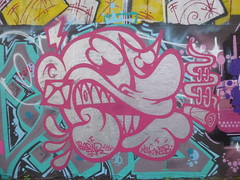 Bebar aux Frigos (avril 2016) (Archi & Philou) Tags: streetart paris13 frigos bebar
