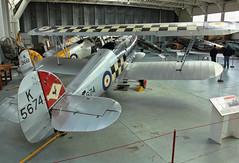 Hawker Fury (clackzuk) Tags: hawker fury mki k5674 iwm duxford