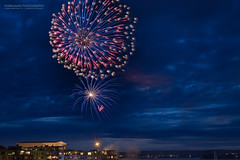 Fireworks (Normann Photography) Tags: longexposure nightphotography beautiful norway wow spectacular fireworks no bluehour tnsberg 17mai nationalday vestfold constitutionday