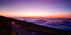 Sunet at haleakala national park (hartvigs) Tags: travel sunset landscape volcano hawaii maui haleakala bluehour nationalparks landscapephotography hawaiilandscape travellandscapes halekalanationalpark fujix100s x100s