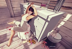 This is my last chance.. (Sistine Kristan (Sisely) - Toolbox Chicks) Tags: home floral hair photography blog bedroom mesh furniture body go pillows sl suit secondlife empire dresser digs omen leotard besom {p ryvolter