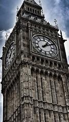 Big Ben! (flowej91) Tags: london clock clouds time bigben snapped ldn appicoftheweek