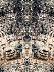 P5210496 (dbillian) Tags: abstract temple cambodia tomb surreal siem reap thom angkor bayon raider