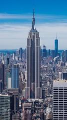 The Empire State Building, New York City (jag9889) Tags: nyc newyorkcity usa house ny newyork building architecture skyscraper observation unitedstates outdoor manhattan unitedstatesofamerica rockefellercenter aerialview landmark midtown deck observatory esb empirestatebuilding topoftherock rockefellerplaza 2016 jag9889 20160614