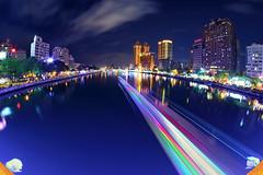 (Eson Huang) Tags: lightpainting night nikon taiwan kaohsiung       d5100
