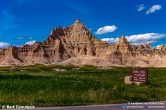badlandsmainpin3.jpg (Bart Comstock) Tags: interior southdakota unitedstates us badlands senic landscape dakota nationalpark dirt sky nature grass