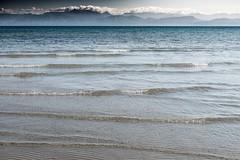 Distant Shore (Number Johnny 5) Tags: sea seascape beach water nikon waves greece d750 tamron corfu sidari 2016 2470mm