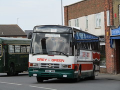 G661 WMD (markkirk85) Tags: new bus green london buses grey day tiger rally running wmd paramount fenland leyland 2016 plaxton whittlesey 101989 busfest g661wmd g661 tpl1