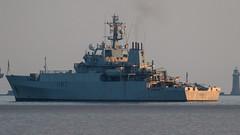 HMS Echo at anchor in Plymouth Sound (Rich Walker75) Tags: uk ship military navy warship royalnavy warships hmsecho