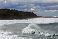 0S1A8106 (Steve Daggar) Tags: lighthouse seascape storm surf waves moody dramatic wave australia coastline norahhead soldiersbeach