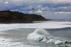 0S1A8106 (Steve Daggar) Tags: lighthouse seascape storm surf waves moody dramatic wave australia coastline norahhead soldiersbeach