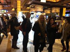 Light Up Vivid Performers at The Star Casino (humanstatuebodyart) Tags: light up star vivid casino performers the