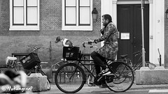 On the road together in Amsterdam (Pieter van de Ruit) Tags: street dog man holland amsterdam streetshot straatfotografie nethetlands