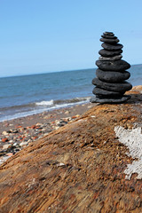 Coal Stack (Evil Cheese Scientist) Tags: june scotland east forth lothian firth 2016 prestongrange