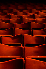 Empty Seats | 162/365+ (petra.zublasing) Tags: abstract red seats opera theatre rows