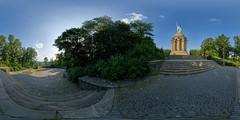 Hermanns-Denkmal (Ernst_P.) Tags: panorama deutschland 360 deu nordrheinwestfalen hermann denkmal detmold hermannsdenkmal equirectangular germane kugelpanorama grotenburg hiddesen