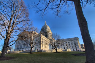 Capital Building Madison Wisconsin by sheldn
