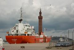 Emiskip. Stigfoss (Reefer) (David Shreeve) Tags: ship boat reefer maritime grimsby docks humber nelincs cargo england uk