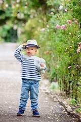 Cool (Lady Tori Photography) Tags: uk pink flowers light boy portrait england cute nature floral hat kids canon vintage children dof natural bokeh mark iii professional portraiture 5d shallow 135mm lightroom preset