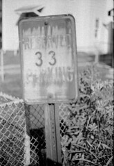 reserved_parking (Judy M. Boyle) Tags: hanoverpa kentmere100 caffenolc caffenol film 35mm canonae1