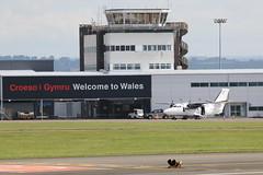 OK-TCA on stand. (aitch tee) Tags: aircraft airliner walesuk cardiffairport let410 oktca maesawyrcaerdydd cwlegff