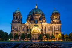 Berliner Dom (Joits) Tags: longexposure berlin bluehour berlinerdom lustgarten museumisland berlincathedral
