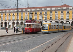 Praa do Comercio (ernstkers) Tags: 5 510 583 bonde carris carristur ccfl ccfl510 ccfl583 lisboa portugal streetcar tram tramvia tranvia trolley elctrico strasenbahn sparvagn sprvagn